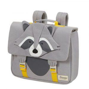 Samsonite Školní taška Happy Sammies S Raccoon Remy 9 l – šedá