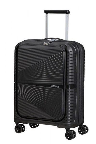 """American Tourister Kabinový cestovní kufr Airconic 15.6"""" Frontloader 34 l – černá"""