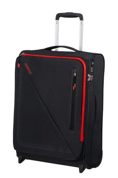 American Tourister Kabinový cestovní kufr Lite Volt Upright 42 l – BLACK/RED