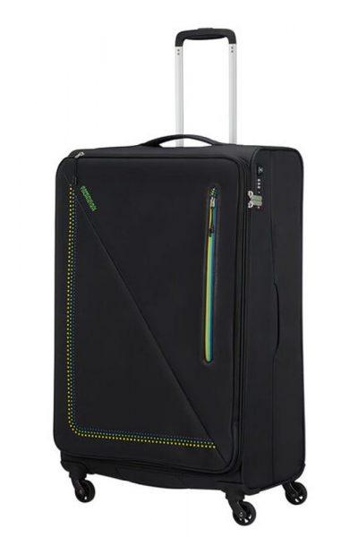 American Tourister Látkový cestovní kufr Lite Volt 102 l – BRAZIL