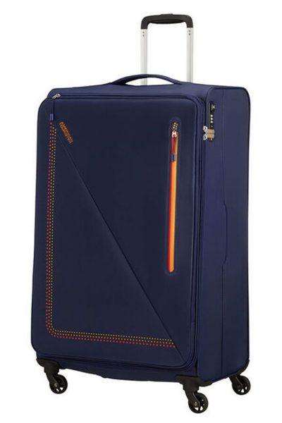 American Tourister Látkový cestovní kufr Lite Volt 102 l – SUNSET