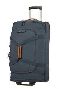 American Tourister Látková cestovní taška na kolečkách Alltrail M 75,5 l – tmavě modrá