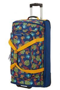 American Tourister Cestovní taška na kolečkách Alltrail L 95,5 l – modrá