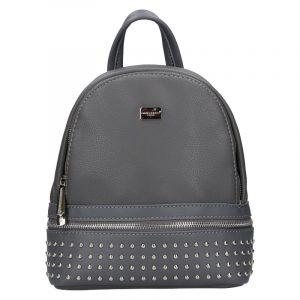 Módní dámský batoh David Jones Felion – šedá