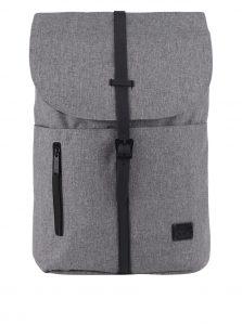 Šedý batoh se sponou na patent Spiral Tribeca 14 l