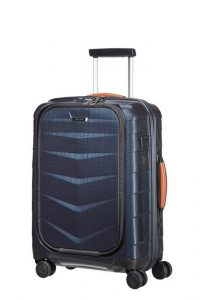 Samsonite Kabinový cestovní kufr Lite-Biz Spinner 86V 37 l – modrá