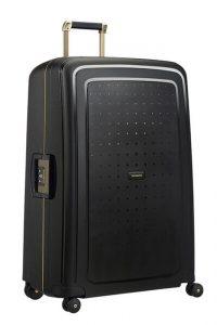 Samsonite Cestovní kufr S'Cure DLX Spinner U44 138 l – černá