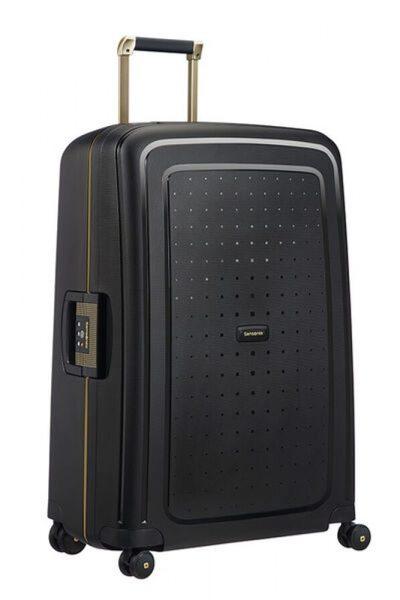 Samsonite Cestovní kufr S'Cure DLX Spinner U44 102 l – černá