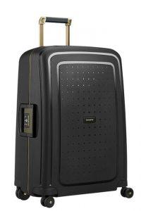 Samsonite Cestovní kufr S'Cure DLX Spinner U44 79 l – černá