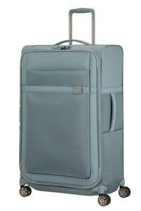 Samsonite Látkový cestovní kufr Airea 78 cm 111,5/120 l – světle modrá