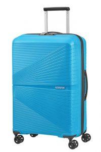 American Tourister Skořepinový cestovní kufr Airconic 67 l – modrá