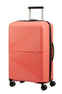 American Tourister Skořepinový cestovní kufr Airconic 67 l – oranžová