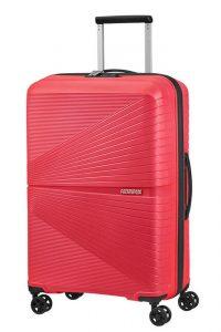 American Tourister Skořepinový cestovní kufr Airconic 67 l – růžová