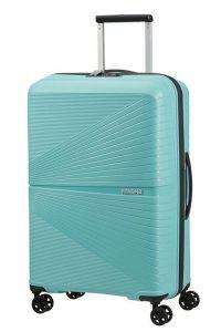 American Tourister Skořepinový cestovní kufr Airconic 67 l – světle modrá
