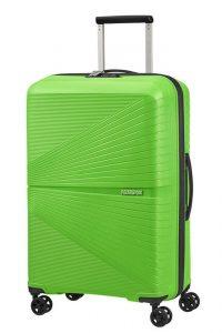American Tourister Skořepinový cestovní kufr Airconic 67 l – zelená