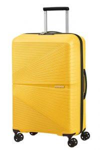 American Tourister Skořepinový cestovní kufr Airconic 67 l – žlutá