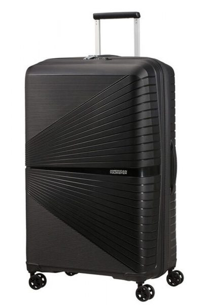 American Tourister Skořepinový cestovní kufr Airconic 101 l – černá