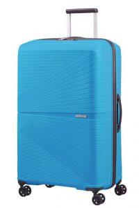 American Tourister Skořepinový cestovní kufr Airconic 101 l – modrá