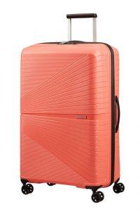 American Tourister Skořepinový cestovní kufr Airconic 101 l – oranžová