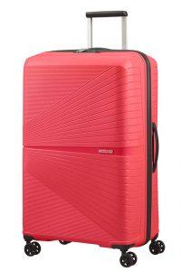 American Tourister Skořepinový cestovní kufr Airconic 101 l – růžová