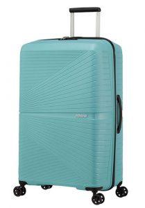 American Tourister Skořepinový cestovní kufr Airconic 101 l – světle modrá