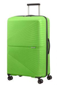 American Tourister Skořepinový cestovní kufr Airconic 101 l – zelená