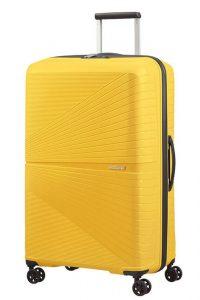 American Tourister Skořepinový cestovní kufr Airconic 101 l – žlutá