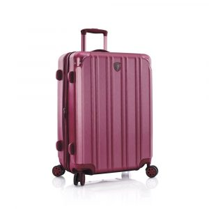 Heys Skořepinový cestovní kufr DuoTrak M Burgundy 93 l