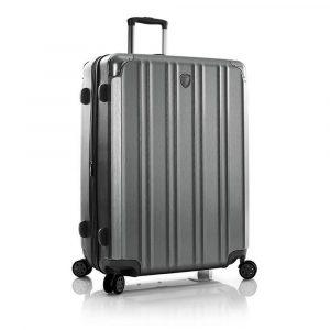 Heys Skořepinový cestovní kufr DuoTrak L Charcoal 144 l
