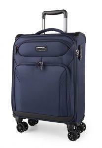 March Kabinový cestovní kufr Black Forest S 38 l – modrá