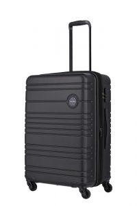 Travelite Skořepinový cestovní kufr Roadtrip M Black 68/73 l