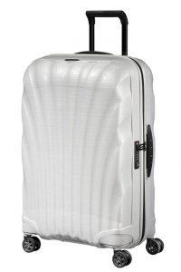 Samsonite Skořepinový cestovní kufr C-lite Spinner 68 l – bílá