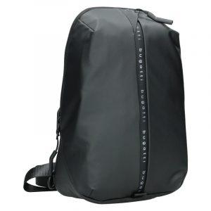 Jednopopruhový batoh Bugatti Madrid – černá