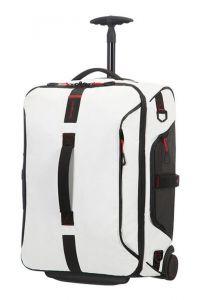 Samsonite Kabinová taška s kolečky PARADIVER 51 l – bílá