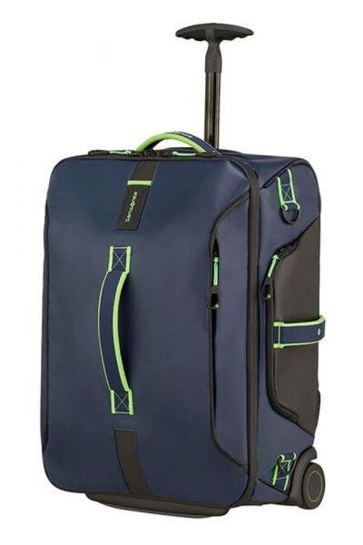 Samsonite Kabinová taška s kolečky PARADIVER 51 l – modrozelená