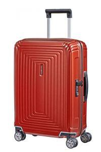 Samsonite Kabinový cestovní kufr Neopulse Spinner 44D 38 l – lesklá červená