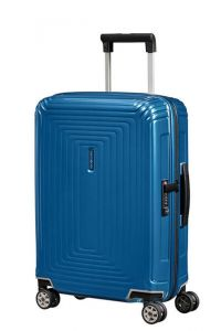 Samsonite Kabinový cestovní kufr Neopulse Spinner 44D 38 l – lesklá modrá