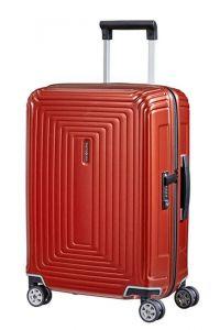 Samsonite Kabinový cestovní kufr Neopulse Spinner 44D 44 l – lesklá červená