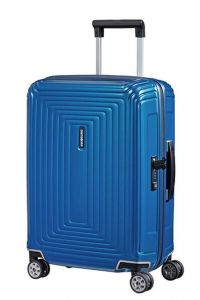 Samsonite Kabinový cestovní kufr Neopulse Spinner 44D 44 l – lesklá modrá