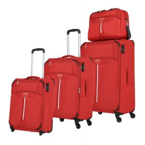 Travelite Speedline 2w S, 4w M,L + Boardbag Red