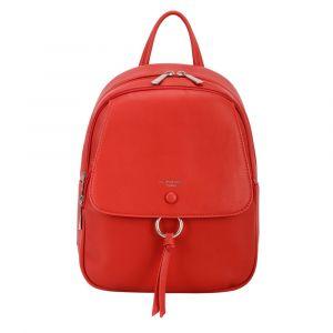 David Jones Paris Dámský batoh 6277-2 – červená