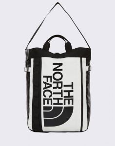 The North Face Base Camp Tote TNF White/ TNF Black