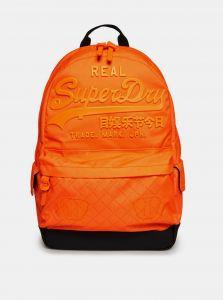 Oranžový batoh Superdry