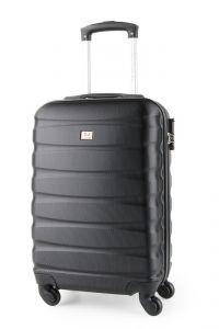 David Jones Paris Kabinový cestovní kufr BA-1030 34 l – černá