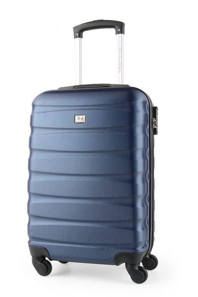 David Jones Paris Kabinový cestovní kufr BA-1030 34 l – modrá