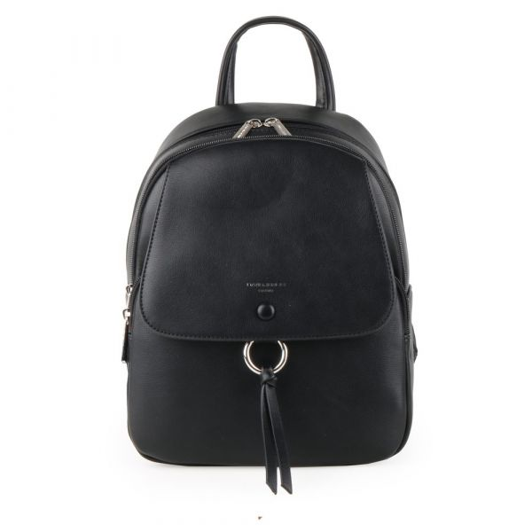 David Jones Paris Dámský batoh 6277-2 – černá