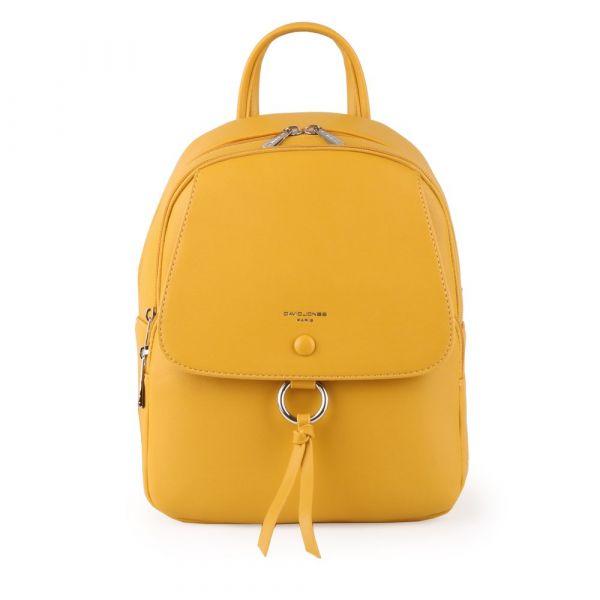 David Jones Paris Dámský batoh 6277-2 – žlutá