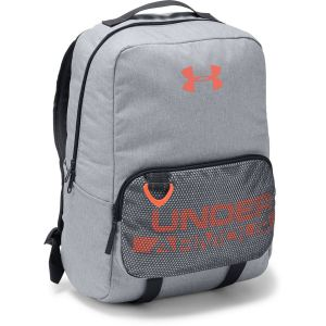Dětský batoh Under Armour Boys Armour Select Backpack Steel Medium Heather/Black/Magma Orange – OSFA