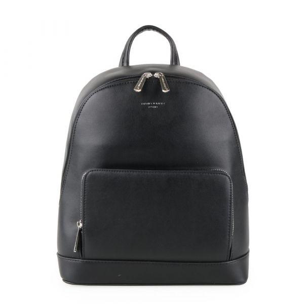 David Jones Paris Dámský batoh 6307-2 – černá