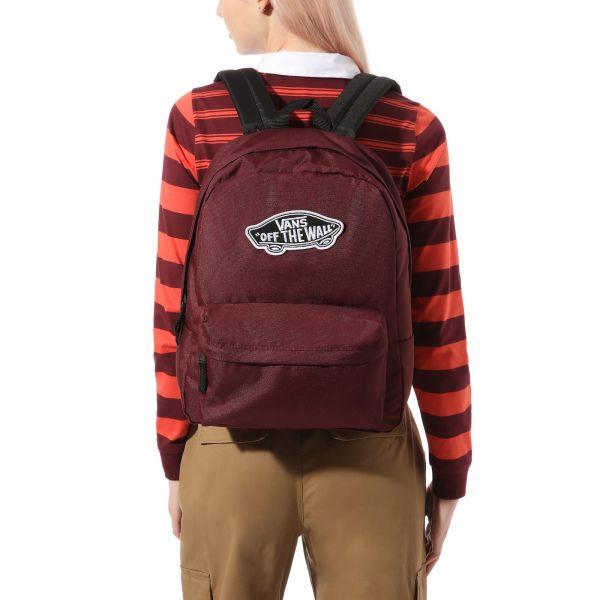 Wm realm backpack Červená